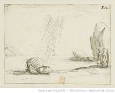 [La vie de la Mère de Dieu représentée par des emblèmes]. [11], [L'huître perlière] : [estampe] / [Jacques Callot] - 1