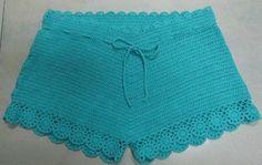 crochet underwear | Ladies Crochet Beach Shorts (R966) - China Cotton Patch,Patch