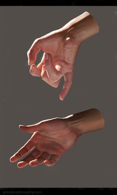 Hand study 2, John Derek Murphy on ArtStation at…