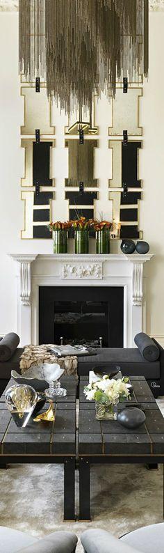 Super-elegant interior designs! #decor