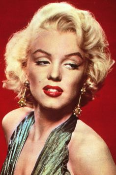 8 Ladies Who Loved Lipliner Long Before Kylie Jenner Did #refinery29  http://www.refinery29.com/lip-liner-history#slide5  Sexpot Flare  And then, there was Marilyn. During the '50s, the blonde bombshell drew severe lines to accentuate her cupid's bow, but overdrew the outer corners of her lips. This gave her a flared-lip look — incredibly sexy when paired with a red lacquer.
