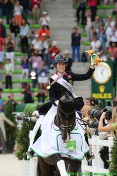 Dressage - Charlotte DUJARDIN- Gold medalist - August 29th - Copyright : PSV Photo