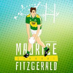 Maurice Fitzgerald, Kerry, GAA, Munster, Ireland, Football, Gaelic, Sport, Munster Ireland, Home Sport, Yup, Irish, Soccer, Passion, Football, Board, Sports