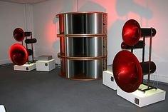 Avantgarde Acoustic Trio Horn Speakers With Six BassHorn Modules (2006)