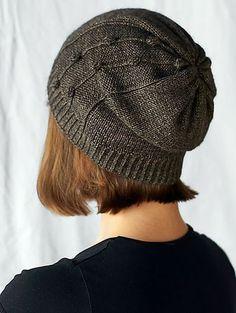 Tears of Bronze slouchy hat pattern