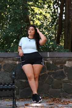 Nadia Aboulhosn: Calling All The Shots Curvy Girl Outfits, Curvy Girl Fashion, Plus Size Outfits, Plus Size Fashion, Nadia Aboulhosn, Fiesta Outfit, Beautiful Muslim Women, Looks Plus Size, Plus Size Kleidung