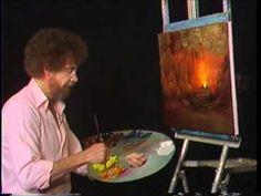 밥로스의 그림 그리기의 즐거움 시즌3 에피소드10 캠프파이어