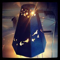 How to Make a Rotating Lamp Shade | Lamp shades, Shades and How to ...