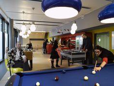 Google Office Zurich | Micro Kitchen #GoogleZurich, #Office, #Games, #Play