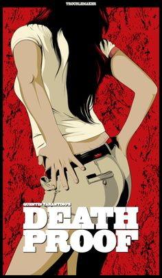 Death Proof - movie poster