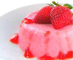 One Perfect Bite: Strawberry Panna Cotta with Strawberry Compote Strawberry Panna Cotta, Strawberry Sauce, Strawberry Recipes, Just Desserts, Dessert Recipes, Italian Desserts, Savoury Cake, Sweet Bread, Dessert