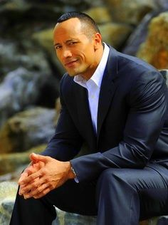 Dwayne aka the Rock some day - wishful thinking or not :)))))))))) :P