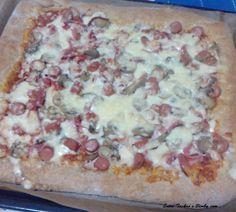 Entre Tachos e Bimby: Pizza Integral