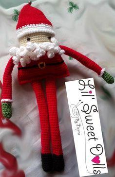navidad christmas amigurumi crochet ganchillo doll  najma01