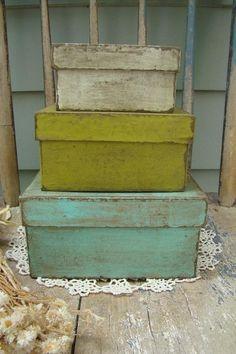 paper Mache Boxes