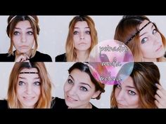 Hair | Peinados fáciles y rápidos para media melena #ConCinta , Nochevieja - YouTube