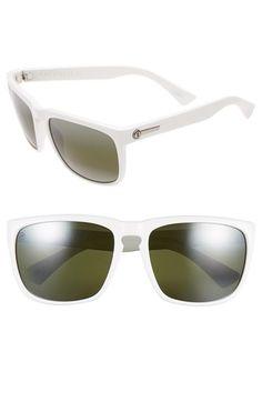 Women's ELECTRIC 'Knoxville XL' 59mm Sunglasses - Alpine Whte/ Grey Bi Gradient