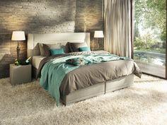 Boxspringbett JOKA La Famiglia 446 Sofa, Bed, Furniture, Home Decor, Carpentry, Bedroom Ideas, Beds, Couch, Decoration Home