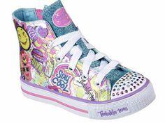 Skechers Twinkle Toes Shuffles Girls Sneakers - Little Kids - JCPenney