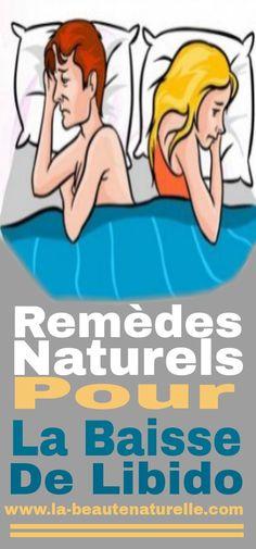 Remèdes naturels pour la baisse de libido