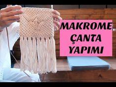 MAKROME ÇANTA YAPIMI - MACRAME BAG TUTORIAL - YouTube