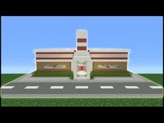 Minecraft Tutorial: How To Make A Bowling Alley - YouTube
