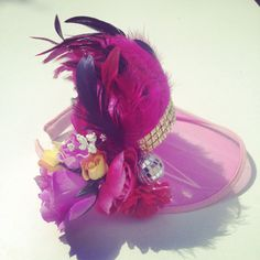 Head Visor Floral Head Piece Festival Head Dress Flower by ZEDHEAD Festival  Hats 4cb7e83c799