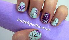 spring nail art | spring-flowers-nail-art