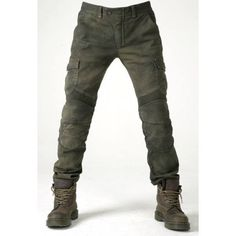 Men's outdoor cycling clothes - nikiluwa.com Motorcycle Pants, Moto Pants, Trousers, Motorcycle Camping, Cargo Pants, Kevlar Jeans, Fashion Pants, Look Fashion, Mens Fashion