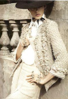 thetasteindex:  Freja Beha Erichsen in Chanel 2010 ad campaign.