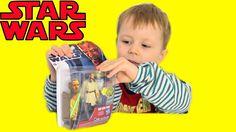 Распаковка  игрушки минифигурки Звездные войны: Квай-Гон Джинн. Star War...