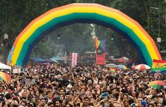 Thousands of revelers invaded the streets of Buenos Aires for the annual Pride parade, also known as Marcha del Orgullo LGBTI. Washington Dc March, Lgbt, Pride Parade, Gay Pride, Gay Men, 15 Years, Prison, Crowd, Brooklyn