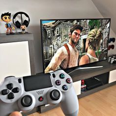 Playstation, Ps4, Sega Genesis, Wii U, Xbox One, Gaming Setup, God Of War, Nathan Fillion, Earth Defense Force 5
