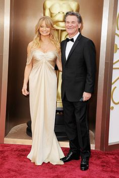 Goldie Hawn and Kurt Russell Oscars 2014