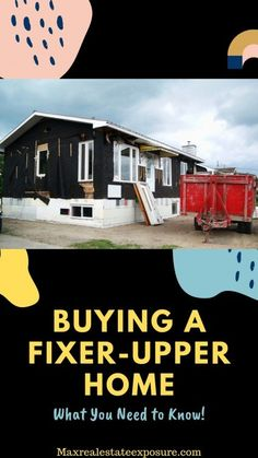 See What You Need to Know About Buying a Fixer-Upper Home: www.maxrealestate… - Buying a Fixer- Upper Home Real Estate Articles, Real Estate Information, Real Estate Tips, Fixer Upper House, Home Buying Tips, Home Fix, Real Estate Investing, Stores, Architecture