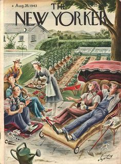 The New Yorker August 28 1943