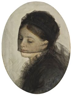 In Mourning | Anders Zorn | 1880 | Nationalmuseum, Sweden | Public Domain Marked