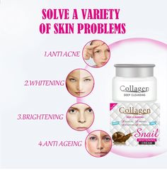 Moisturizing Collagen And Snail Whitening Face Cream Remove Pimples Acne - Buy Whitening Cream,Face Cream,Snail Cream Product on Alibaba.com Whitening Cream For Face, Whitening Face, How To Remove Pimples, Skin Problems, Anti Aging Skin Care, Moisturizer, Gender, Snail, Products