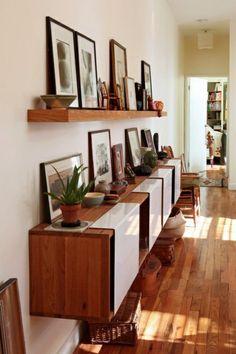 brennholz richtig lagern wohnzimmer nische | kaminholz | pinterest
