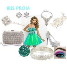 """Iris Prom"" by greekfreak-69 on Polyvore"