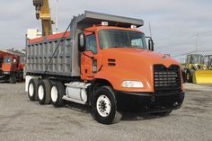 16 Ft. Steel Dump Body, Camelback Suspension, Mack MP7 370 HP, Manual 9 Spd. Transmission, 521,139 Miles  #DumpTrucksForSale Mack Dump Truck, Mack Trucks, Tow Truck, Chevy Trucks, Dump Trucks For Sale, Heavy Construction Equipment, Logging Equipment, Car Carrier, Heavy Duty Trucks