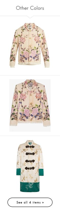 """""""Other Colors"""" by moonchilds-offc ❤ liked on Polyvore featuring men's fashion, men's clothing, men's outerwear, men's jackets, multi, mens cotton jacket, mens beige jacket, mens floral jacket, mens slim jacket and mens slim fit jackets"""