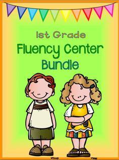 1st Grade Fluency center bundle $