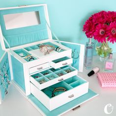 Our Jewelry Box is the {perfect} place to keep your jewelry! The only way to get your hands on this exclusive item is to host a Jewelry Bar! Contact your local Origami Owl Independent Designer for details.