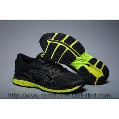 0a3f8b8af Zapatillas Running Asics Gel Kayano 24 Hombre Blanco Negro Verde Baratas