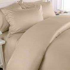 8 Piece Egyptian Cotton Bed in a Bag - Full / Double - Gold Duvet Cover with Blush-Pink Sheets by Pure Egyptian Cotton. $149.99. 100% Egyptian Cotton. Sets Include: Sheets, Pillowcases, Comforter, Duvet Cover & Pilow Shams. All items including comforter are machine washable. 300 Thread Count Solid. These Bed in a Bag Sets rival bedding found in luxury hotels. All items except the comforter are 300 thread count 100% Egyptian Cotton. Each Bed in a Bag Set contains a down a...