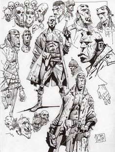Ian McQue Sketches On Twitter | Posted by Ian McQue at 9:00 AM