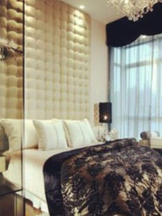 Glamourous bedroom...