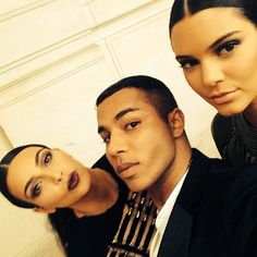 The 35 best fashion BFF Instagrams of the year: Kim Kardashian, Olivier Rousteing, Kendall Jenner