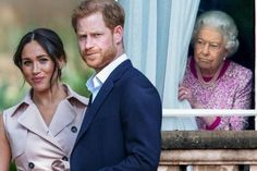 """A royal expert claims Prince Harry has demanded """"an apology"""" from the Royal Family over what he perceives as the mistreatment of his wife, Meghan Markle. One of the main bones of contention is over an alleged racist comment made by one member of the Royal Family regarding the skin colour of Harry and Meghan's baby, Archie before he was born. Oprah Winfrey later said the comment wasn't made by the Queen herself or Prince Philip. Prince Philip, Prince Charles, Meghan Markle Pics, Royal Life, Fake Photo, Prince Harry And Meghan, Oprah Winfrey, Queen Elizabeth Ii, Duke And Duchess"""